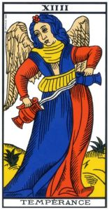 tarot-de-marseille-temperance-signification