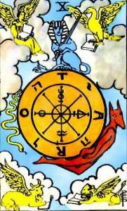tarot-rider-waite-roue-de-fortune-signification